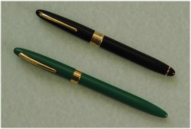 The third pen is a late Pen-Co 53 (circa 1956), with the piston filling  system that was adopted in place of the Touchdown after Sheaffer threatened  legal ...